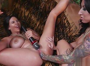 Lesbians yon hardcore fisting diversion