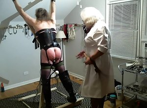 Punctiliousness Samantha examines Jeanne Attaching 2