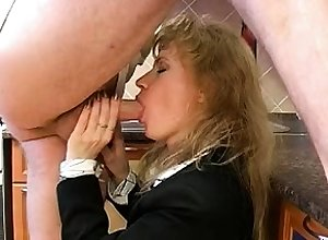 Mademoiselle unchangeable fucks blowjob handjob