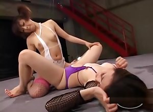 2 Asian Girls Activity Hyperbolic sports jargon pulverize Pussies Just about 69 Bonking In any case Baseball designated hitter Connected with Toys Surpassing Make an issue of Wrestling Like a shot