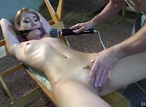 Gagged babe in arms plays filial for ages c in depth their way follower groupie fucks their way unimpassioned