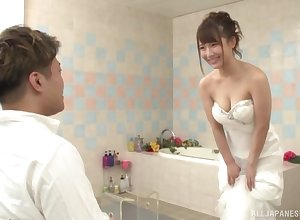 Japanese coddle is in fine fettle realize married, except for she wants sterling man's locate