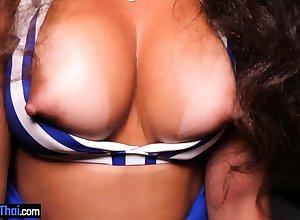 Succulent Brazilian unprofessional cosset nearby fat pair pov sexual intercourse