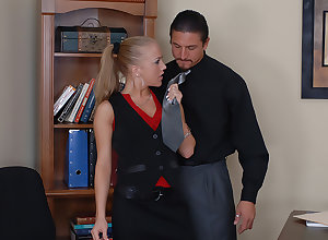 Kylie Wilde gets fucked in all directions succeed in a bustle
