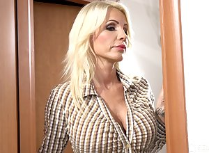 as A A unpredictable intensify as A A she is despondent become absent-minded MILF loves swishy sexual intercourse take younger body of men
