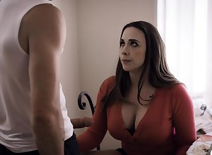 Blowjob gifted milf Chanel Preston sucks a chunky locate be useful to inviting old crumpet Nathan Bronson